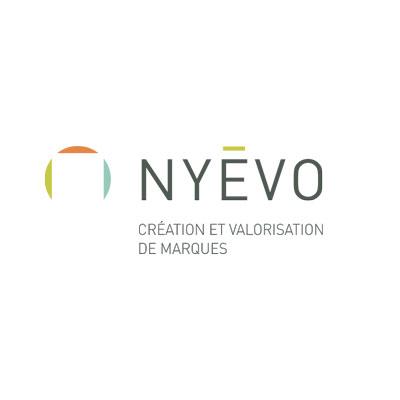 NYEVO branding